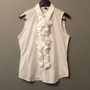 Ralph Lauren white tank top